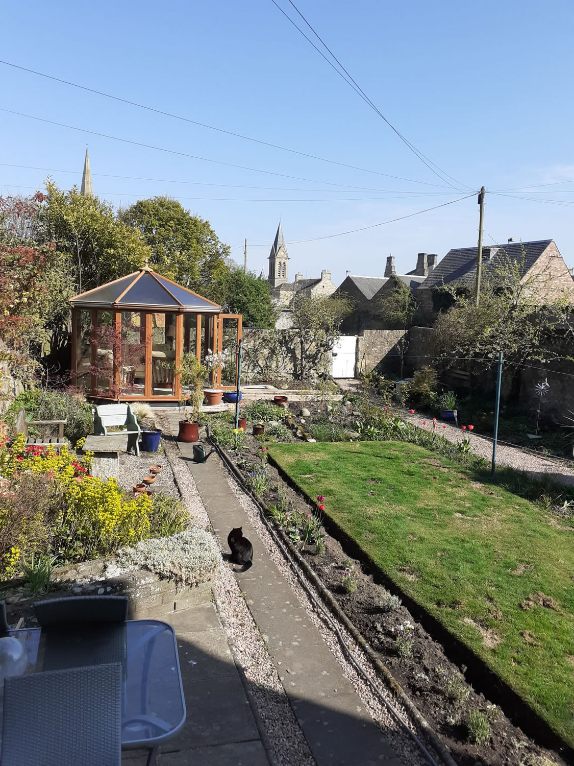 Moatville Lower, self catering accommodation, Cupar